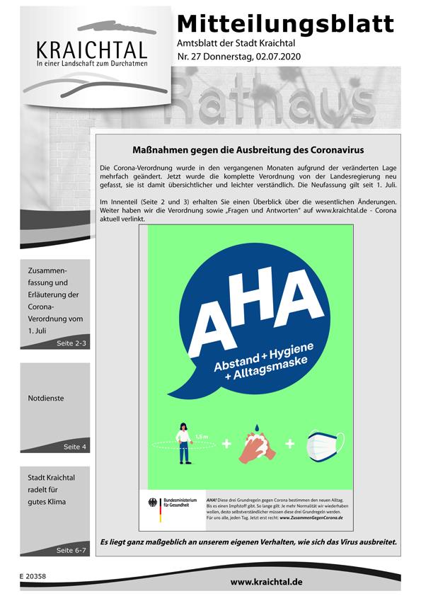 Title KR Mitteilungsblatt 2020-27